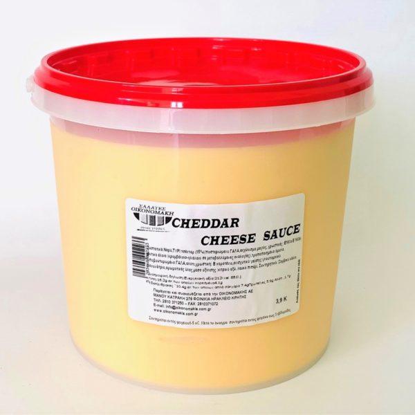 Cheddar sauce Οικονομάκη